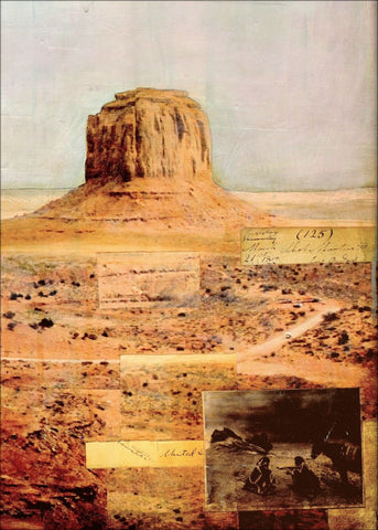 "Monument Valley, 36""x36"" - J.C. Spock"