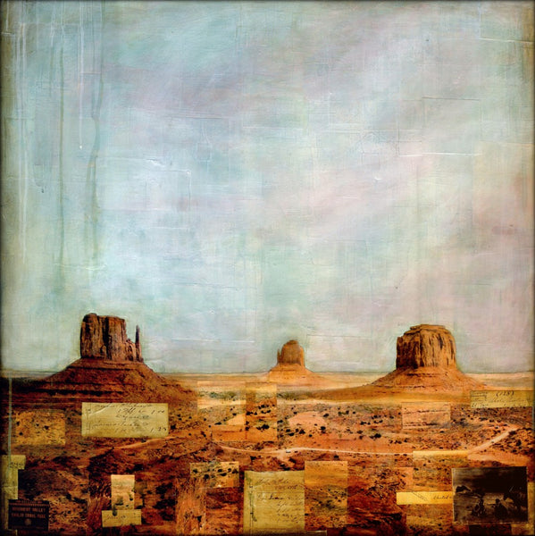 "Monument Valley, 36""x36"""