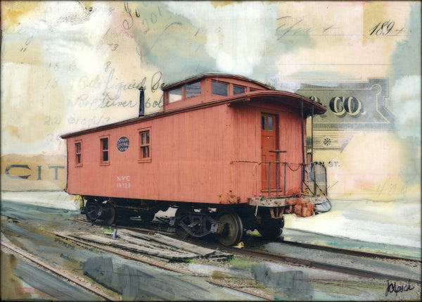 "NYC Caboose, 5"" x 7"""