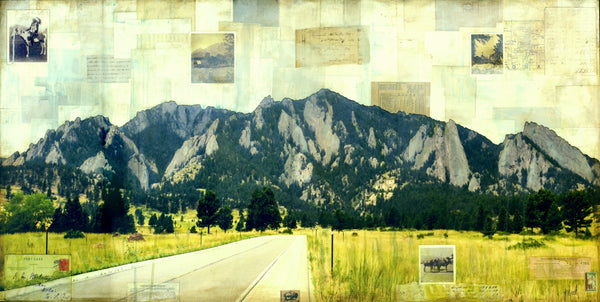 "Road to Flatirons, 24"" x 48"" - J.C. Spock"