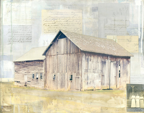"Three Sisters Barn, 16""x 20"" - J.C. Spock"