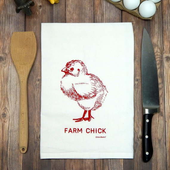 Farm Chick - red