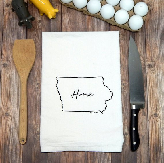 Home Iowa - black