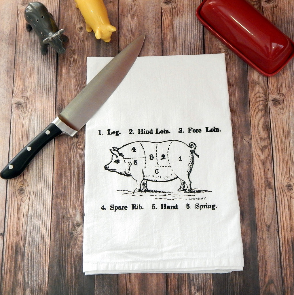 Pork Butcher Cuts - black