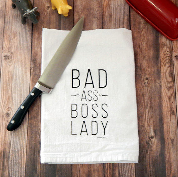 Bad Ass Boss Lady - black