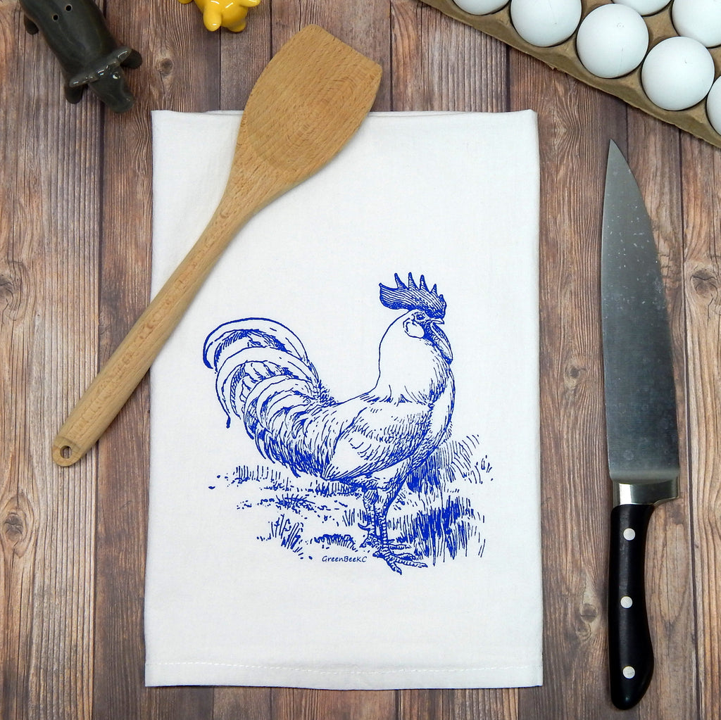 Rooster - blue