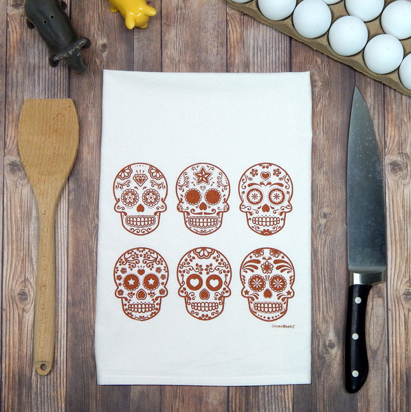 Sugar Skulls - copper