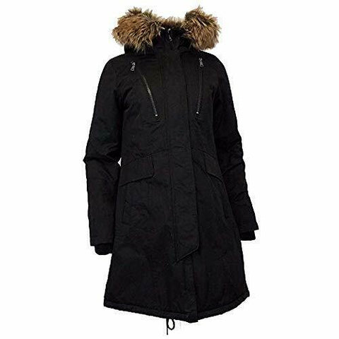 1 Madison Expedition Heritage Collection Women's Midweight Parka , Black, Large