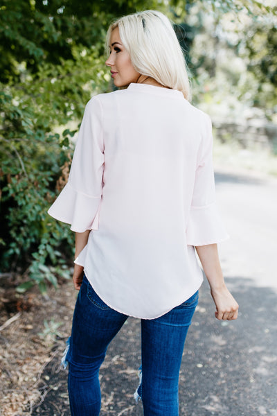 Perfect Weekend Blouse - Pink