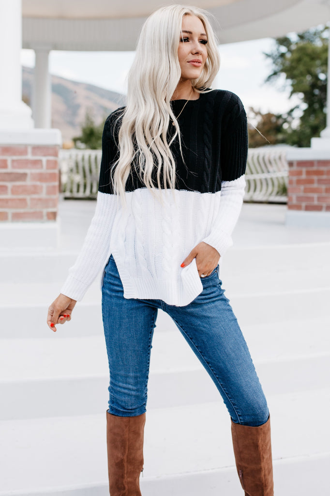 Cozy Up Sweater - Black