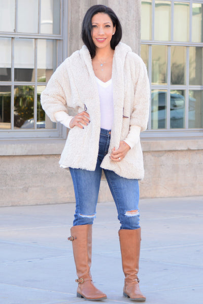 Soft and Cozy Coat - Beige