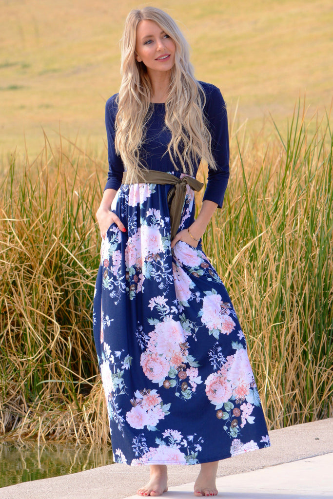 Blooming Flowers Maxi