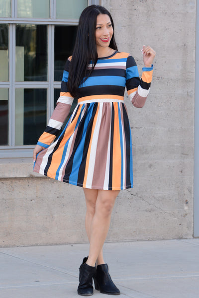 Lovely Stripes Dress