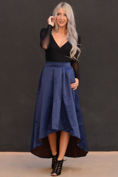 Take Me Out Party Skirt - Navy