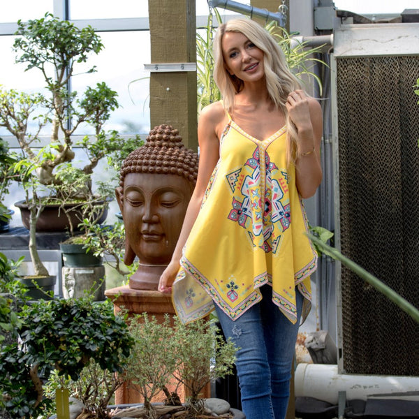 Summer Vibes Top - Yellow
