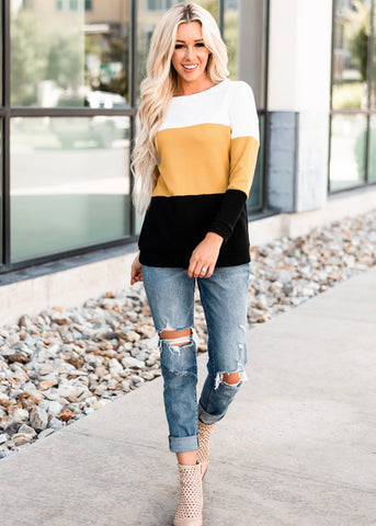 Cozy Thermal Top - Yellow