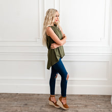Load image into Gallery viewer, Relaxed Tank Top - Olive