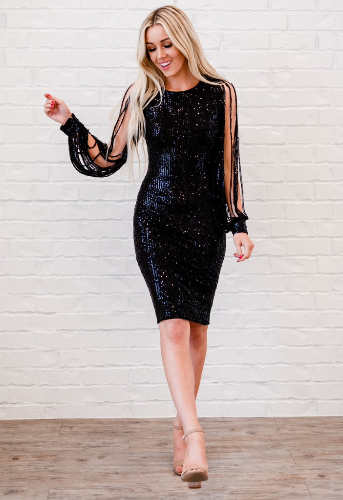 Perfect Valentine's Day Dress - Black
