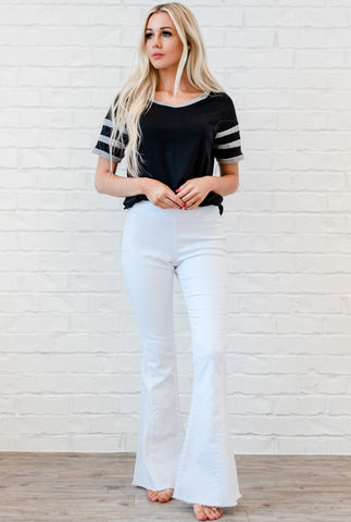 Dare To Flare Jeans - White