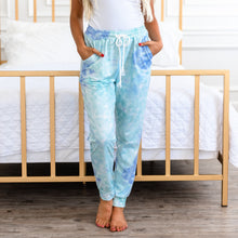 Load image into Gallery viewer, Tie Dye Joggers - Sky Blue