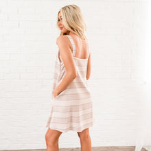 Load image into Gallery viewer, Summer Striped Tank Dress