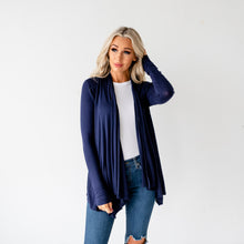 Load image into Gallery viewer, Lia Fall Cardigan - Navy