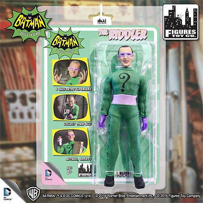 Batman Classic 1966 TV Series Riddler Action Figure NEW AND SEALED