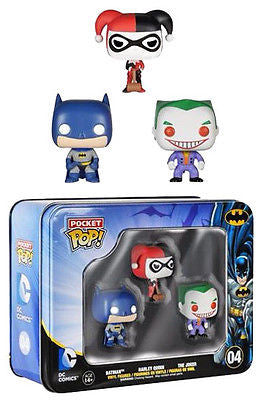 Batman Pocket POP! Tins Figures 3-Pack 4 cm