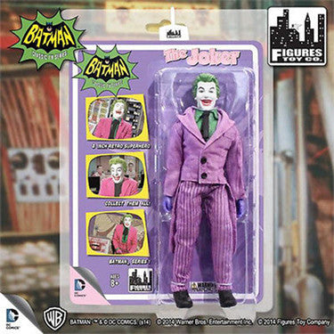 Batman Classic 1966 TV Series Joker Action Figure NEW AND SEALED