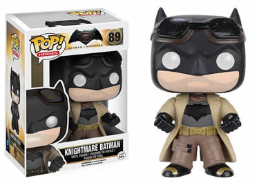 Batman v Superman POP! Heroes Vinyl Figure Knightmare 3 Batman 9 cm