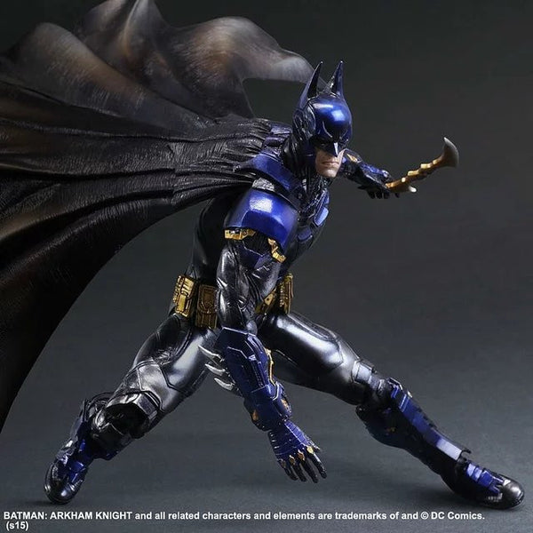 Playarts KAI Batman Arkham Knight Batman Blue Limited Ver.  PVC Action Figure Collectible Model Toy 28cm KT2143