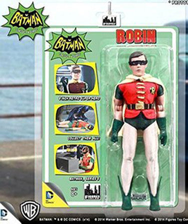 Batman Classic 1966 TV Series 1 Robin 8-Inch Action Figure