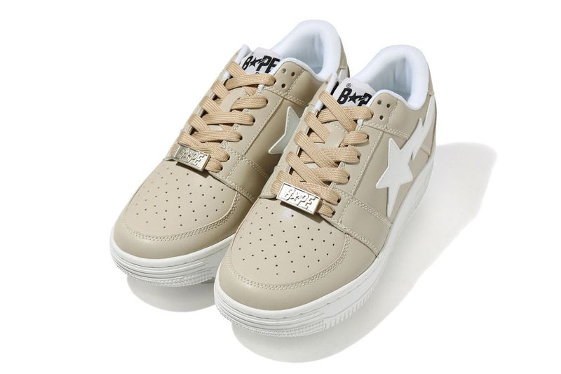 Bapesta Ivory Leather WL