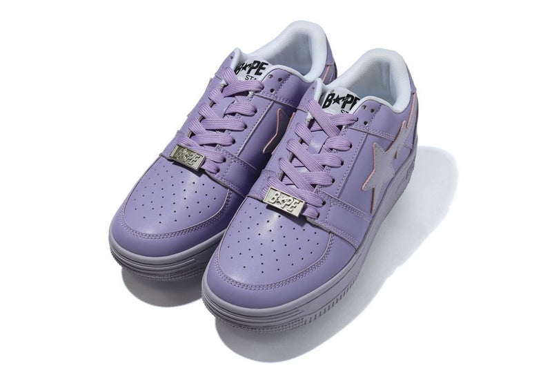 Bapesta Purple Leather WL
