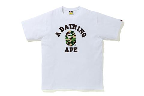 ABC College Tee White/Black