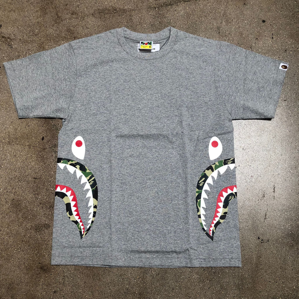 ABC Camo Double Side Shark Tee Grey/Green - Exhibit A