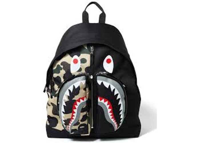 Shark Backpack 1st Camo Yellow Black