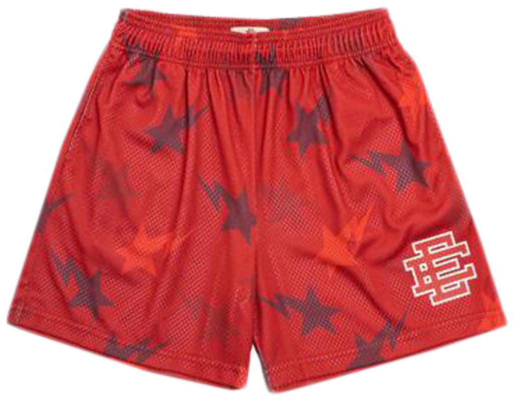 Eric Emanuel x BAPE EE Basic Short Red