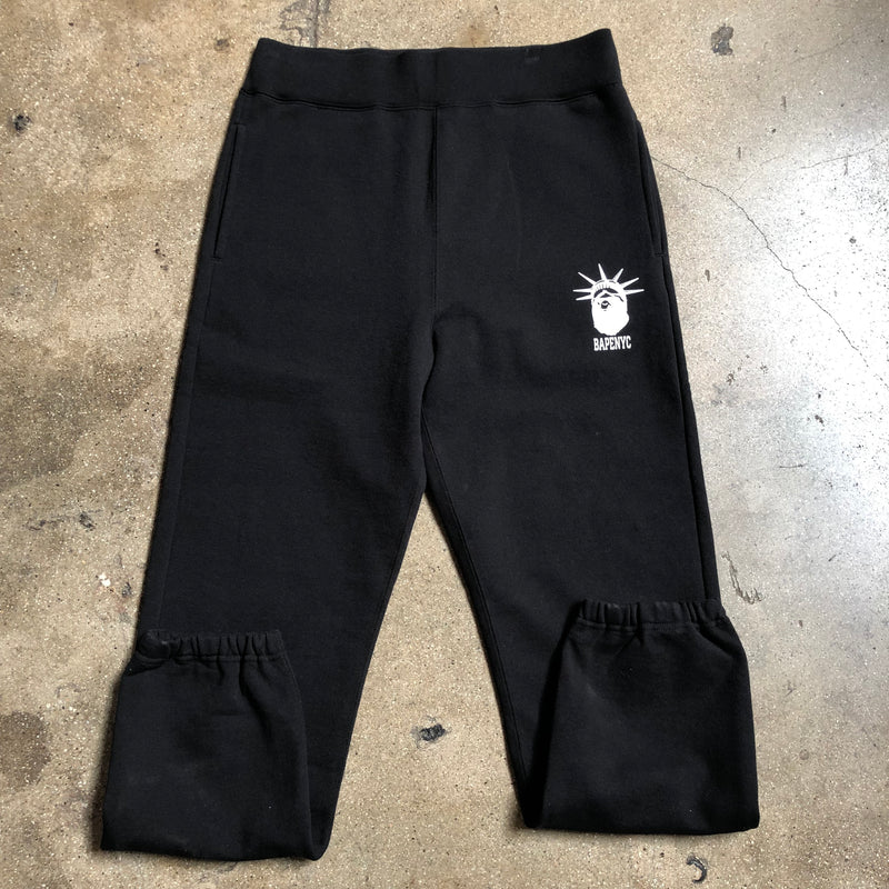 Bape NYC Slim Sweatpants Black - Exhibit A
