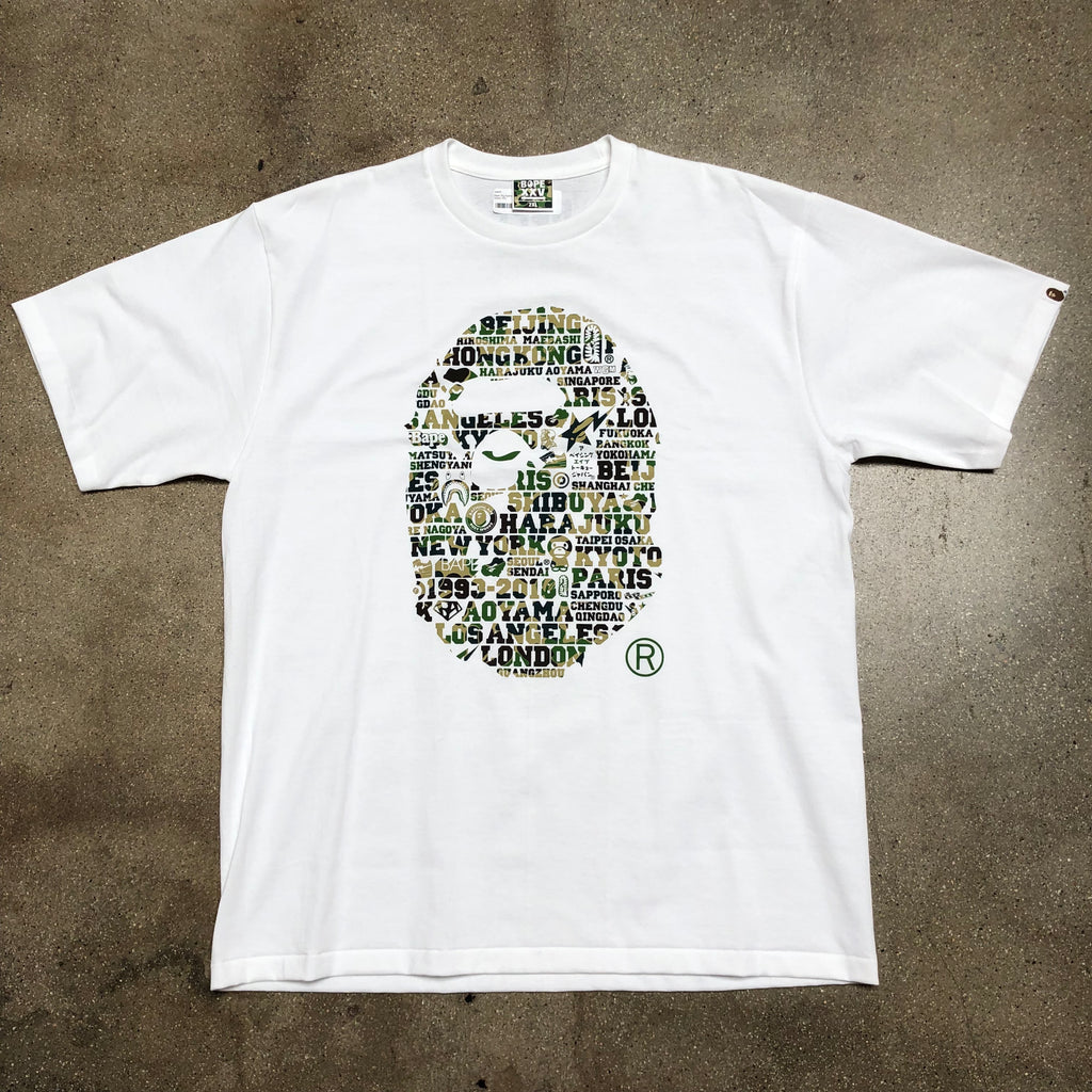 25th Anniversary Ape Head Tee White/Green - Exhibit A