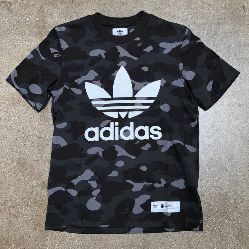 Adidas Color Camo Tee Black - Exhibit A