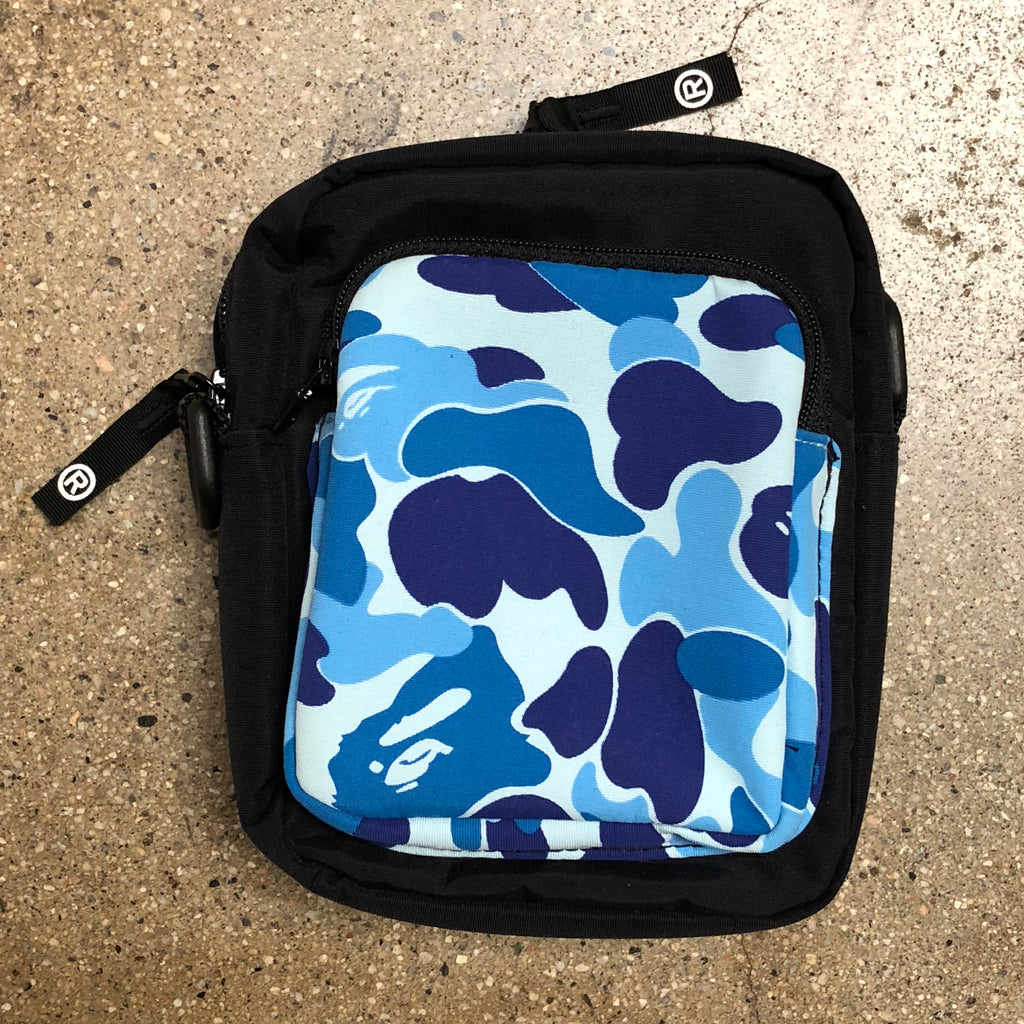 ABC Camo Camera Bag Blue - Exhibit A
