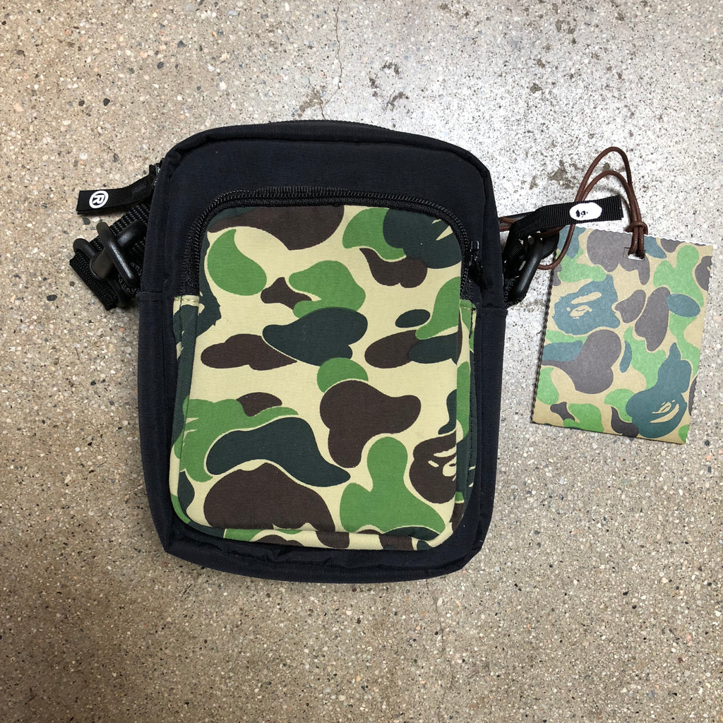 ABC Camo Camera Bag Green - Exhibit A