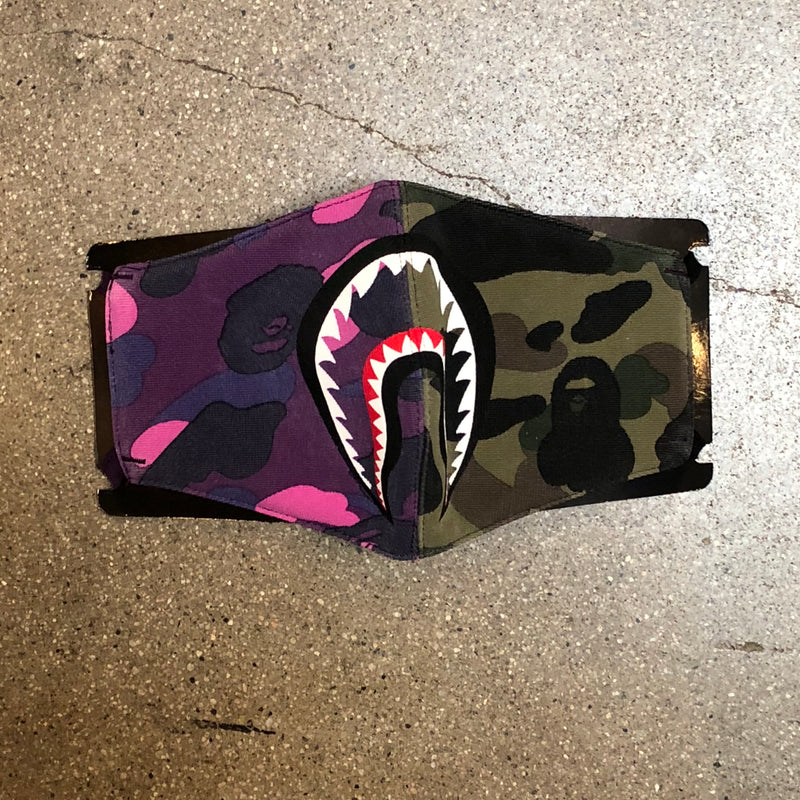 Bape Camo Cushion Navy