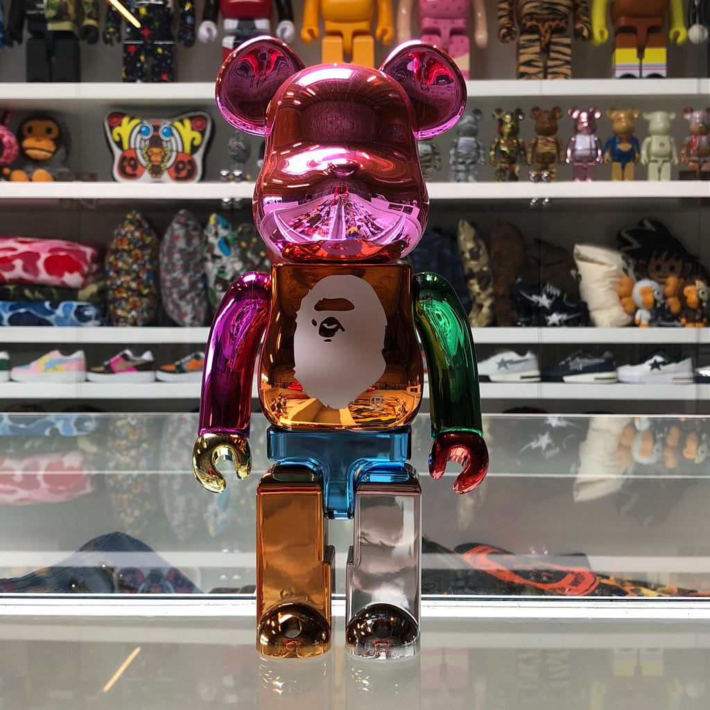 Bape 25th Anniversary 400% Bearbrick - Exhibit A