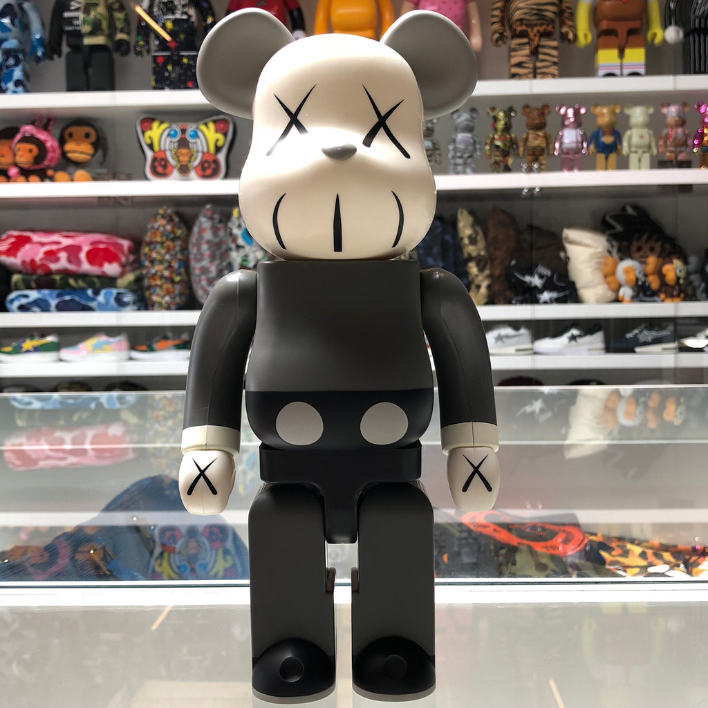 KAWS Companion 400% Bearbrick Grey - Exhibit A
