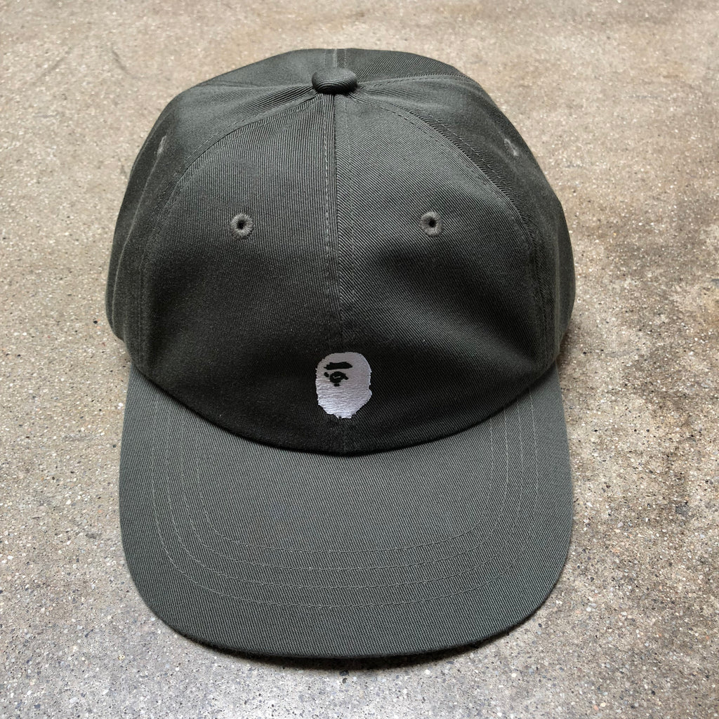 One Point Ape Head Cap Olive