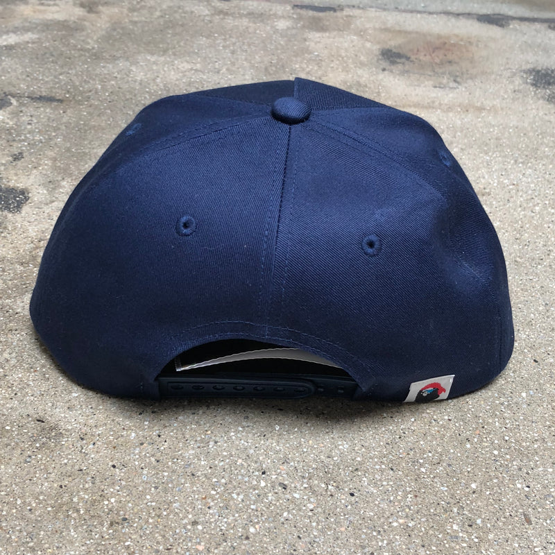 Pirate Ape Head Cap Navy - Exhibit A
