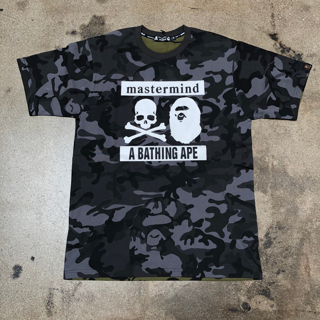 Bape vs Mastermind Camo Tee Black/Green