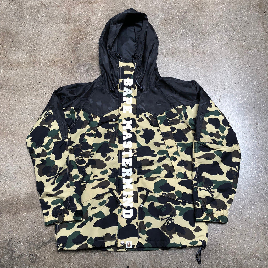 Bape Mastermind Camo Snowboard Jacket Yellow - Exhibit A